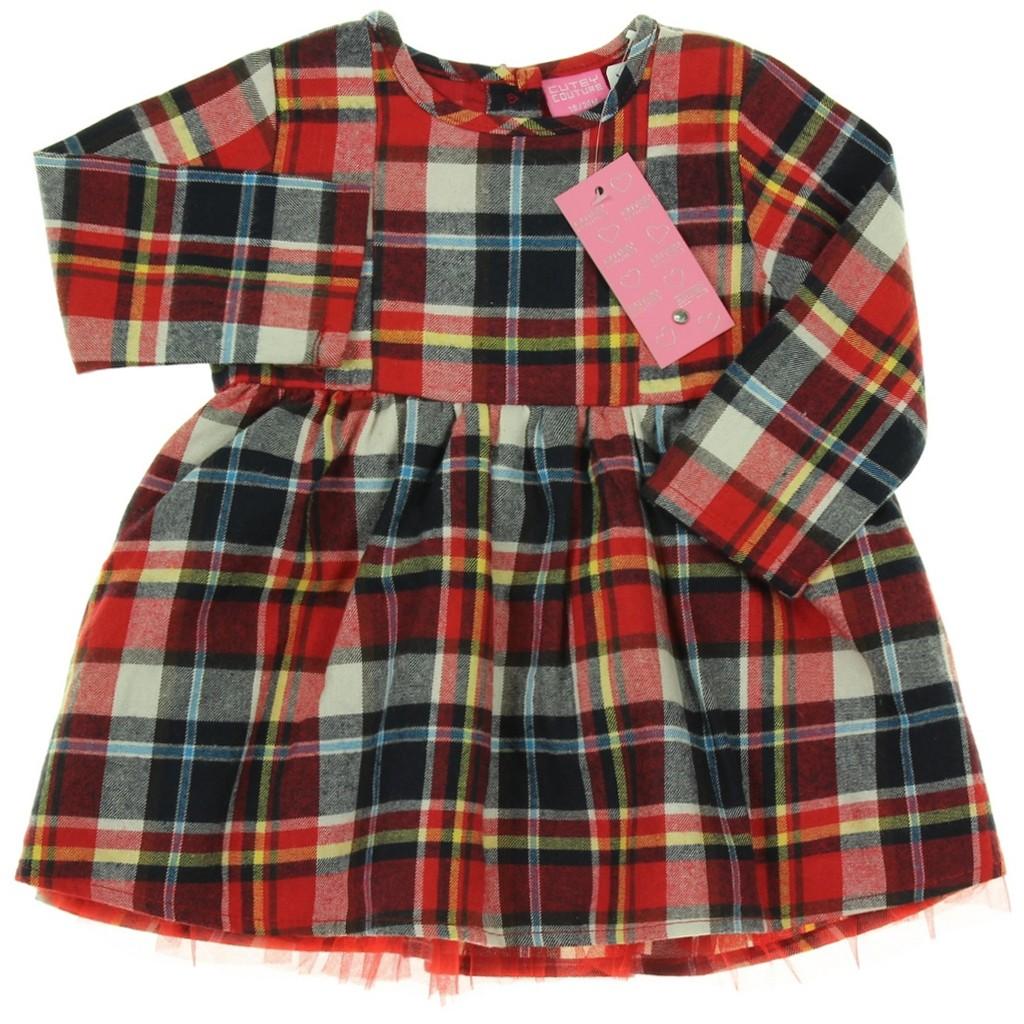 Cutey Couture Kleid, Gr. 18-24 Monate